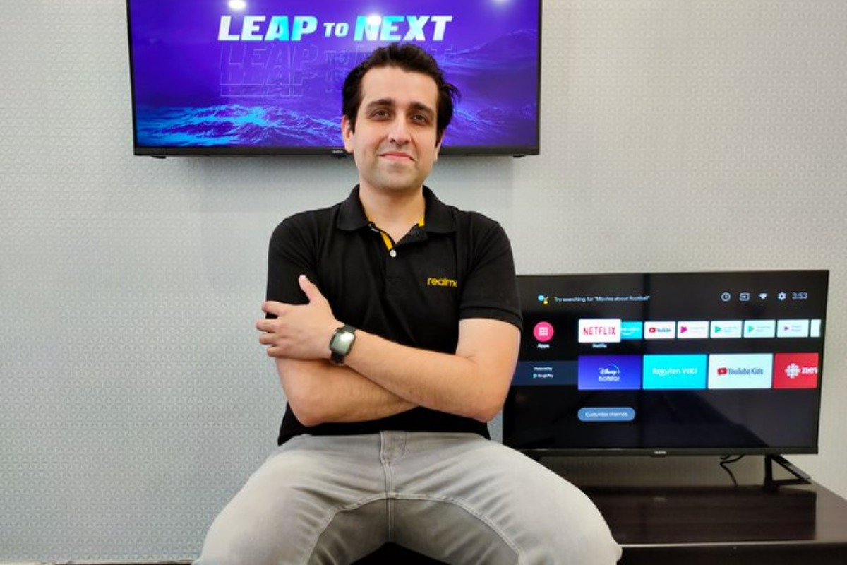 In first sale, Realme sells over 15,000 Smart TVs in India in 10 minutes