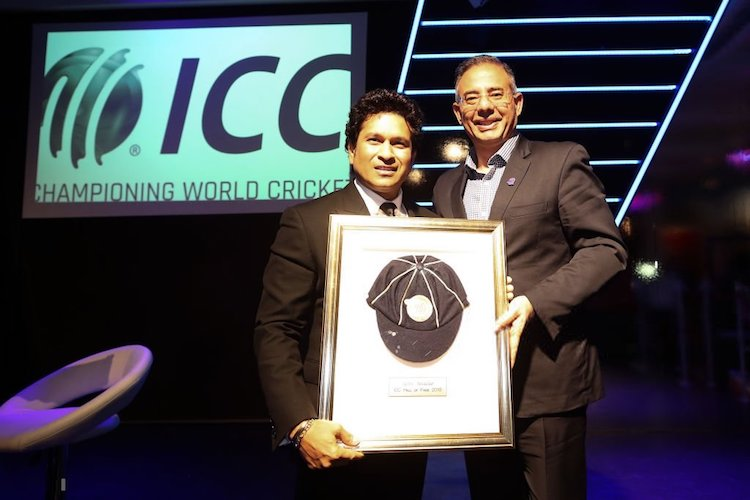 Sachin Tendulkar inducted into ICC Hall of Fame, becomes 6th Indian to receive honour