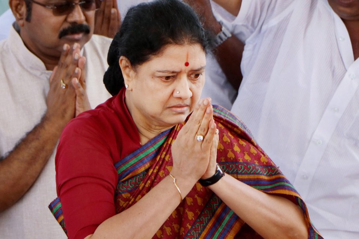 Video: Sasikala released from jail. Here are her political options | The  News Minute