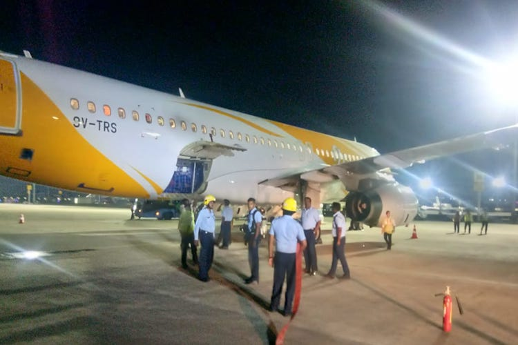 Singapore based Scoot Airlines makes emergency landing in Chennai after pilots notice smoke