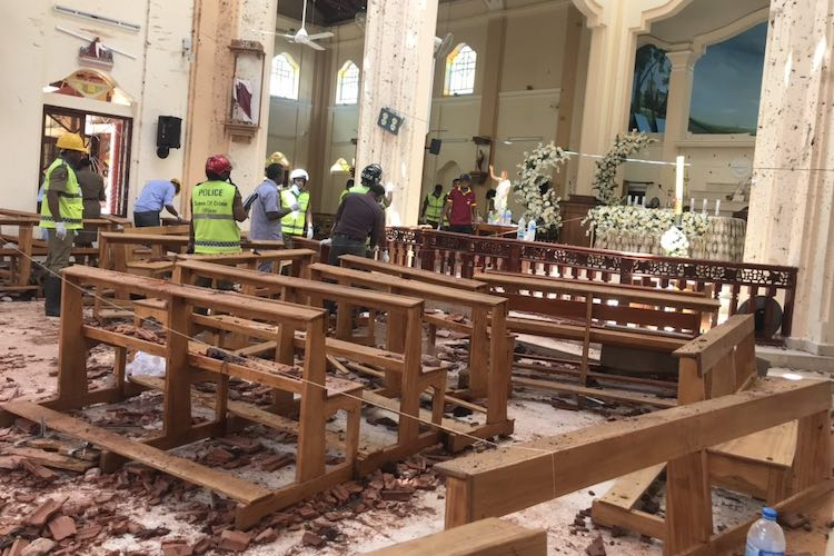 Local outfit National Thouheeth Jamath behind Easter Sunday attacks: Sri Lankan govt