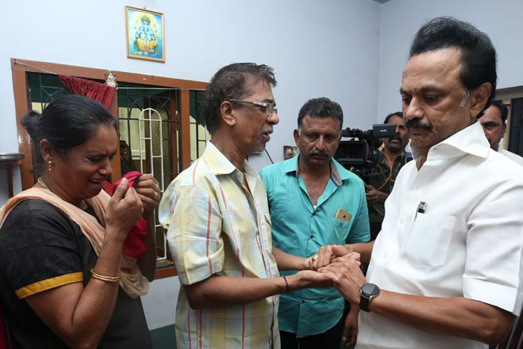 'Let Subhasri be last victim of banner culture': Her father tells MK Stalin