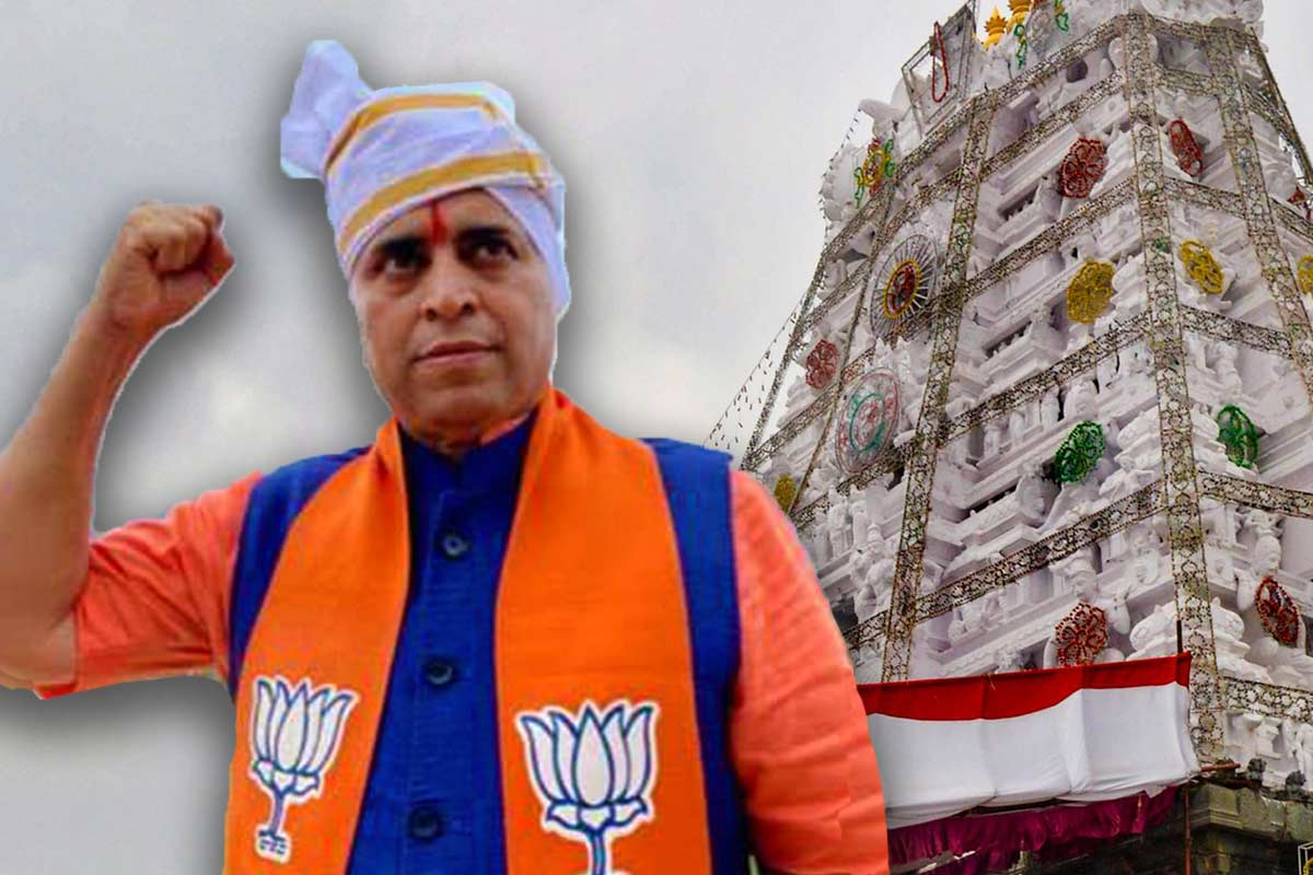 If we join hands with Naidu we will lose AP BJP in-charge Sunil Deodhar interview