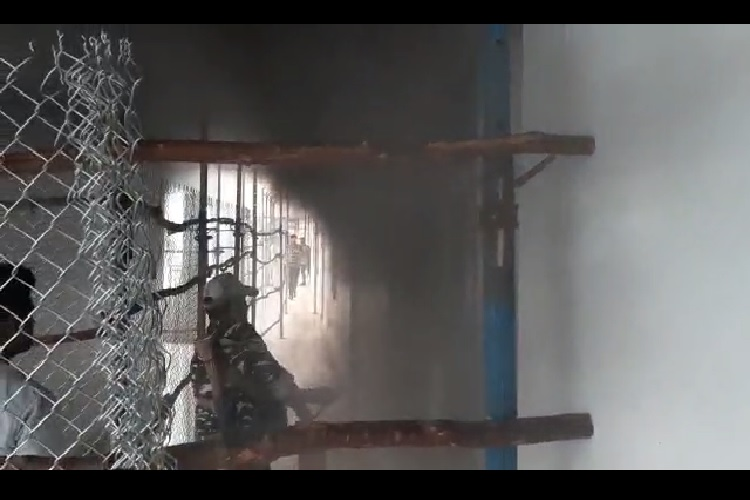 Fire breaks out at counting centre in Andhra, EVMs safe