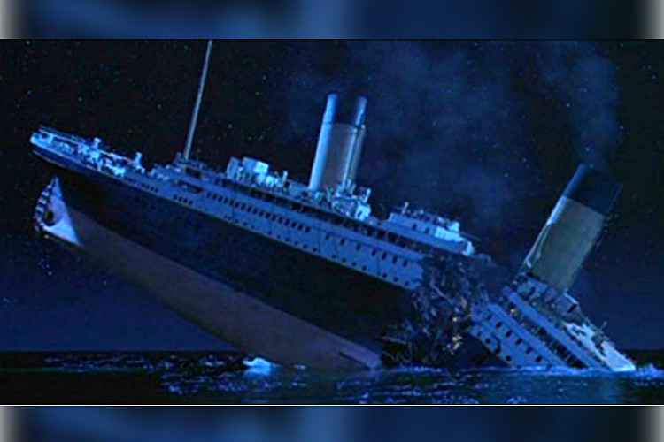 did an iceberg sink the titanic a journalists new
