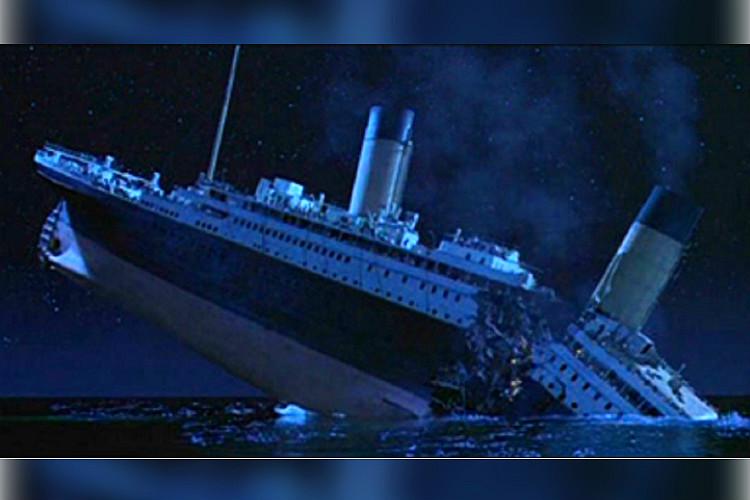 Titanic Kitchen After Sinking