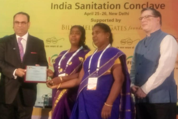 400 Trichy women awarded by FICCI for exemplary work on urban sanitation