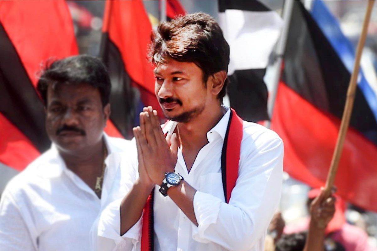 Udhayanidhi Stalin makes victorious poll debut in Chepauk-Thiruvallikeni | The News Minute