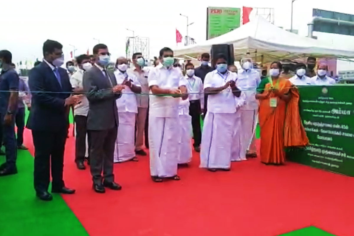 TN CM inaugurates Pallavaram and Vandalur flyovers in Chengalpet district