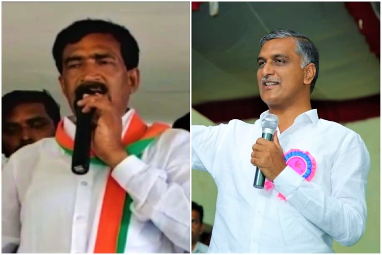 Cong leader taking on KCR in Gajwel alleges police harassing him on directions of CM