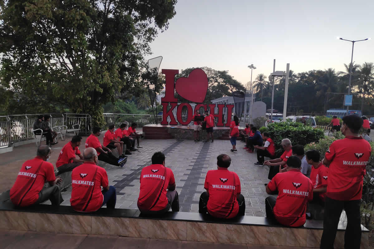 Fitness friendship and camaraderie This unique Kerala walkers club turned 10