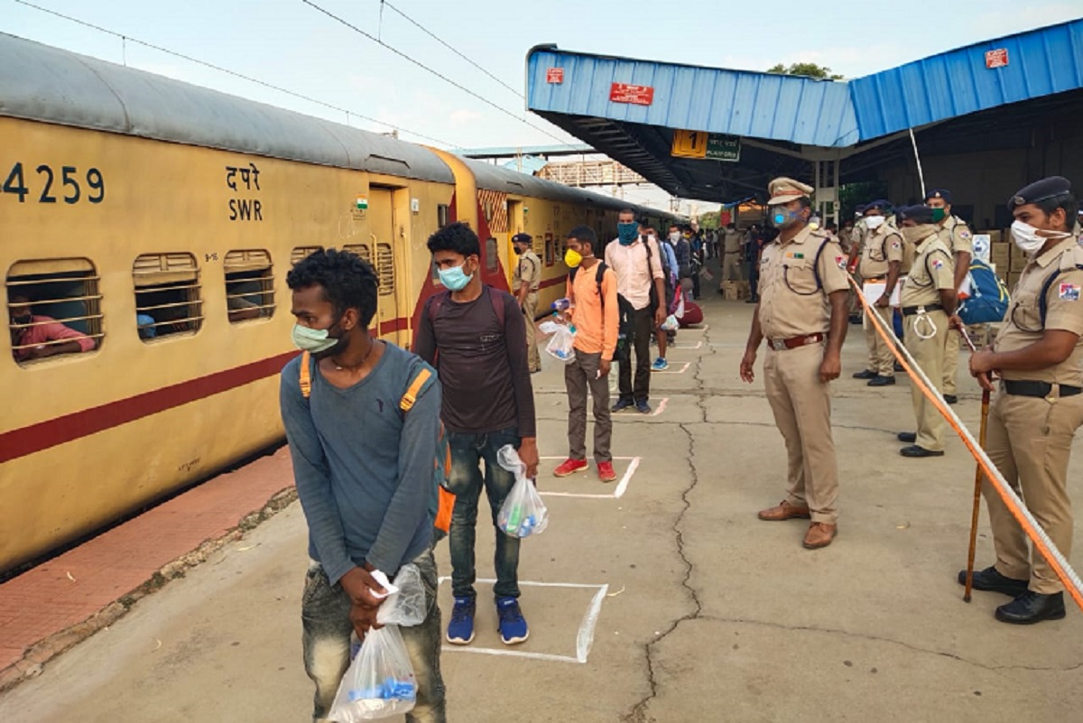 Karnataka govt to restart trains for migrant workers after public ...