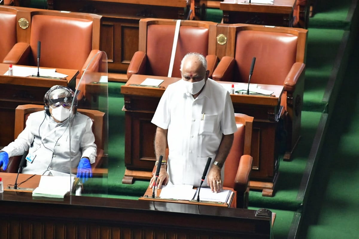 Cong no-confidence motion against Yediyurappa govt defeated as Karnataka Assembly ends