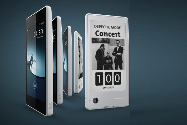 Russian smartphone YotaPhone 3 with Kindle-like E-ink ...