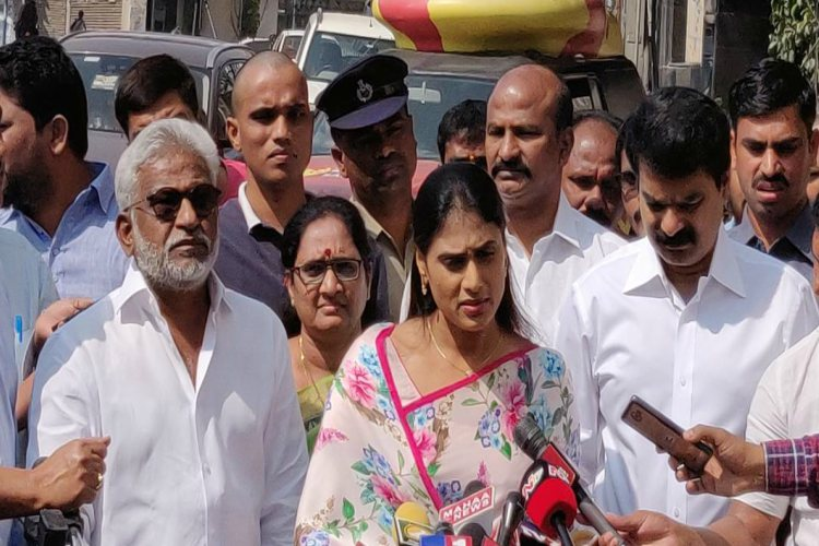 'TDP comments on Sharmila row irresponsible': YSRCP lashes out at Andhra CM Naidu