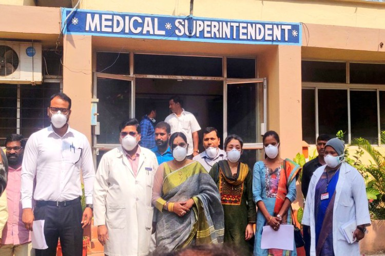 Coronavirus: Three passengers from China admitted in Hyderabad hospital
