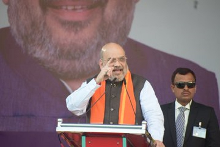 Those opposing CAA are anti-Dalits: Home MIn Amit Shah in Hubballi