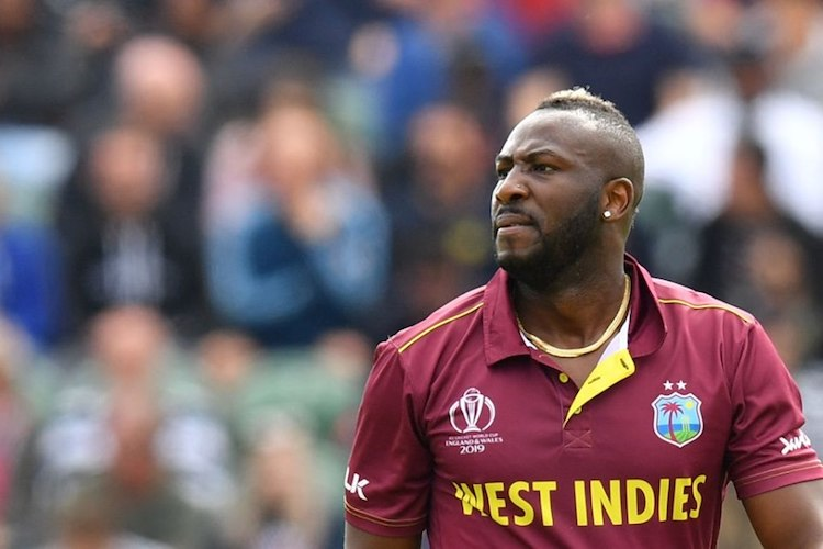Injured Andre Russell ruled out of World Cup 2019