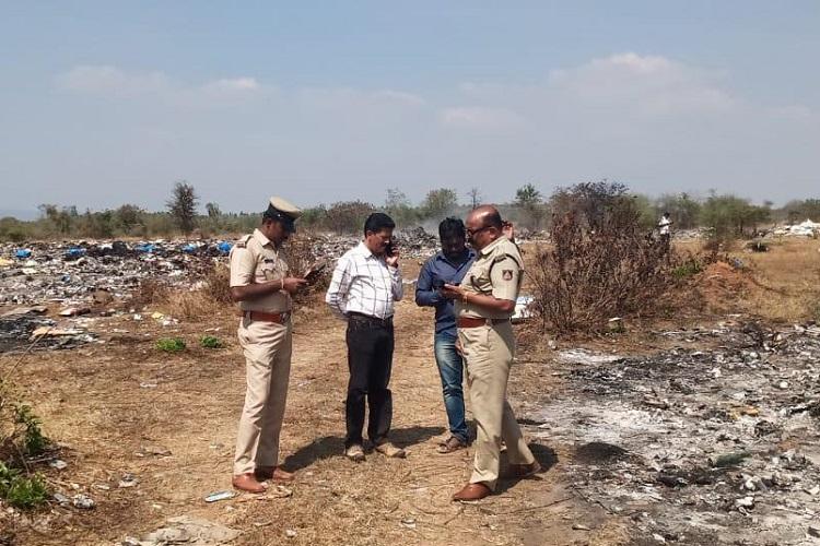 Cops yet to nab Kerala garbage contractor who dumped biomedical waste in Karnataka