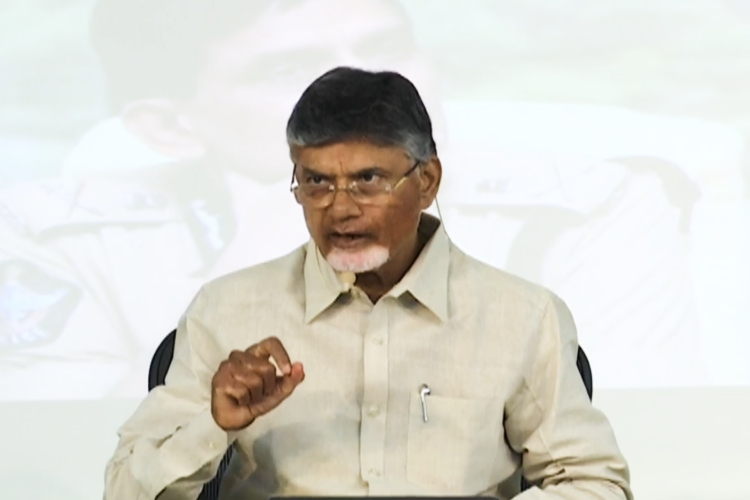 After TDP cadre arrested over social media posts, Naidu claims police bias