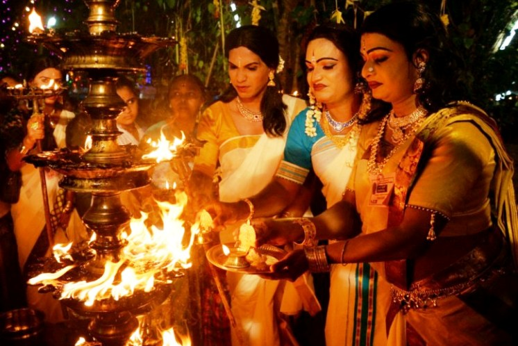 Worshipping as women: Check out this unique Kerala festival