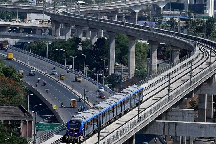 Chennai metro holds fresh trial run for trains at 2.5 mins frequency