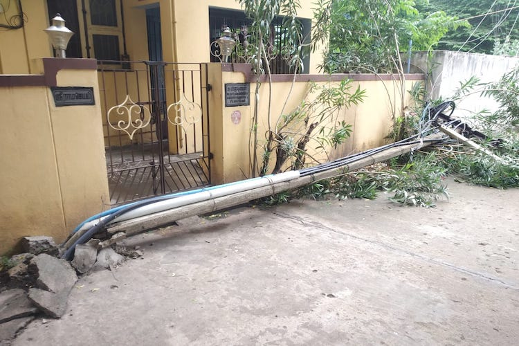 After faulty electric post kills Chennai man, local survey reveals 60 such faulty poles