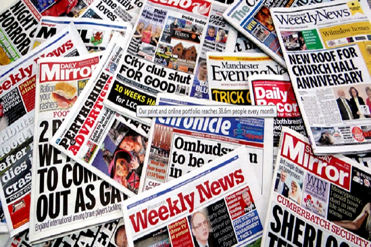 Here's wishing Trinity Mirror good luck, UK's first new paper in ...
