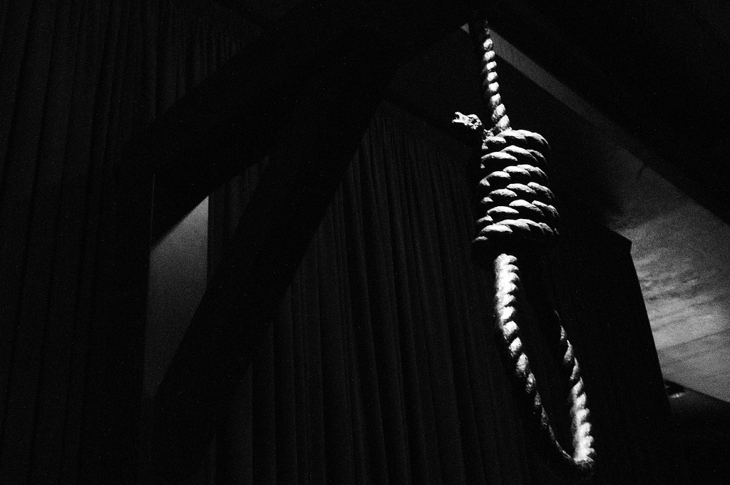 the death penalty cannot deter crimes in society If the death penalty doesn't deter crime, if we cannot eliminate the arbitrary nature of it's application, and if the possibility of mistake is far too great, then there's no justification .