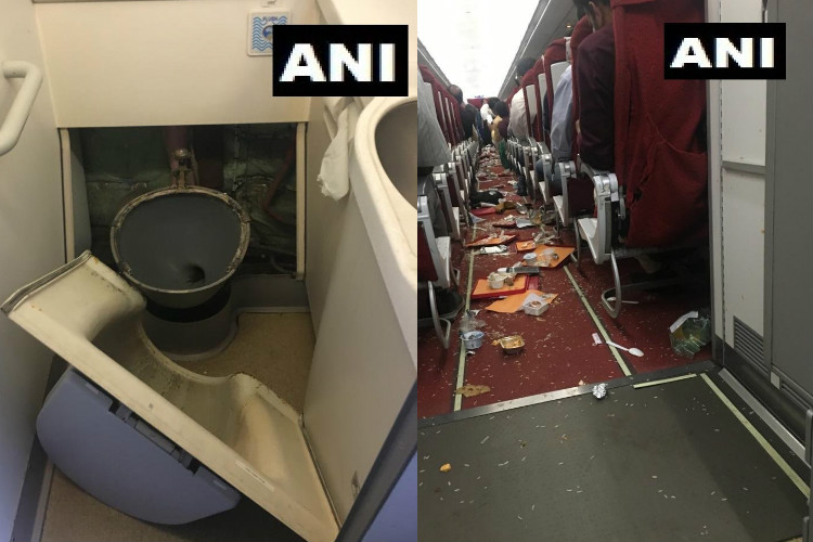 Thunderstorm causes damage to Air India Delhi-Vijayawada flight, cabin crew injured