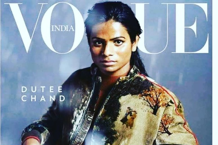 First out-lesbian Indian athlete Dutee Chand featured on Vogue India cover