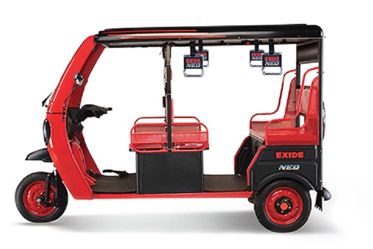 Exide Industries forays into e-rickshaws, launches 'Exide Nido'