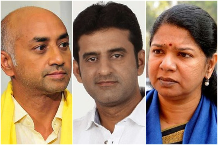 List of Income Tax raids on politicians in south India in the run up to elections