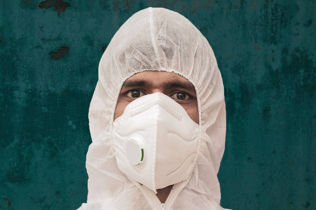 Are Indian healthcare workers being provided the right kind of masks