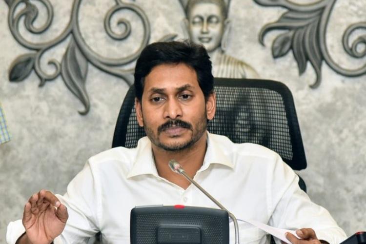 Andhra CM Jagan says govt has democratic right to sue media houses