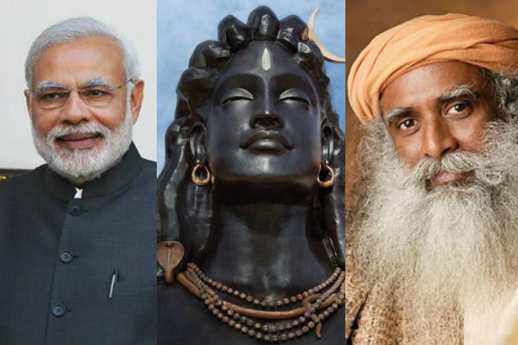 thenewsminute.com - Angry protests as Modi set to unveil Isha Yoga's 'illegal' massive Shiva statue in Coimbatore
