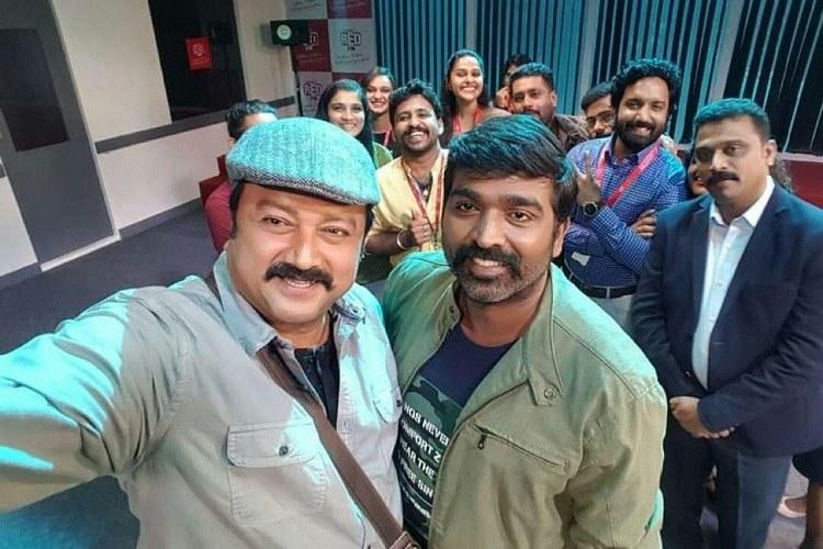 Vijay Sethupathi joins the sets of 'Marconi Mathai'