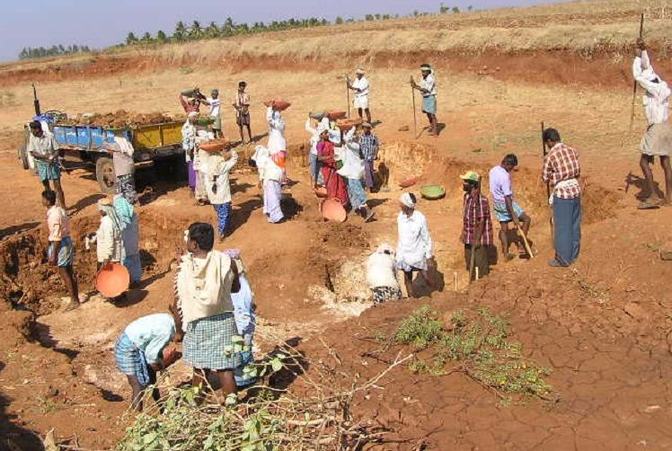 Telangana polls: When workers under NREGA scheme turned 'campaigner for hire'