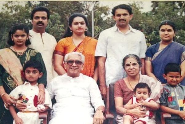 Former cm karunakaran s daughter padmaja loses on his turf for K muraleedharan family photo