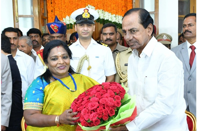 Telangana Governor Tamilisai to hold 'praja darbar' for public? TRS worried