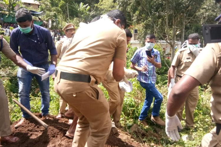 Body of 27-day-old Kerala baby exhumed after locals raise suspicion over her death