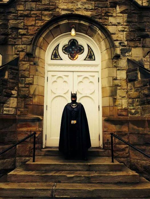 Route 29 Batman' who visited sick children in hospitals dies