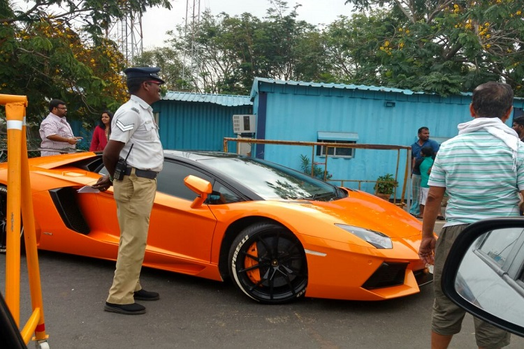 10 luxury cars seized for over speeding in chennai one. Black Bedroom Furniture Sets. Home Design Ideas