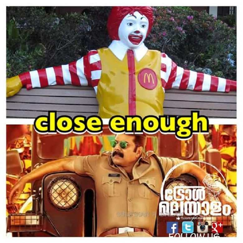 Mammootty Or Ronald Mcdonald Actor Trolled For Kasaba S