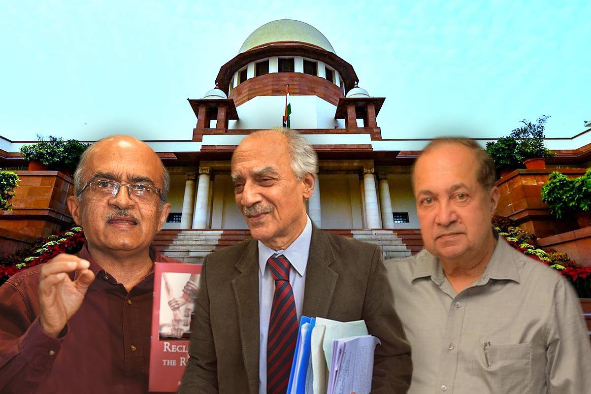 Explained: N Ram, Arun Shourie and Bhushan's plea against contempt of court law