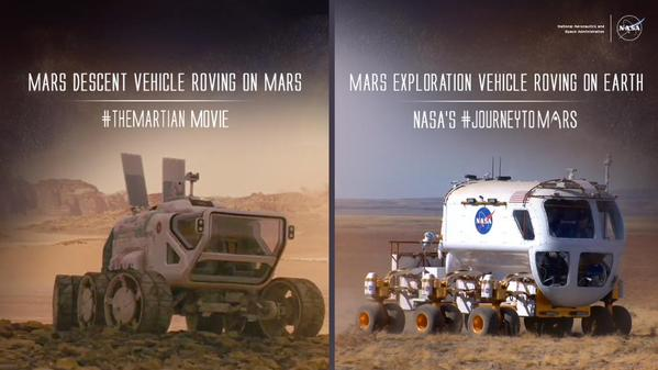 In 5 Photographs The Technologies Used In Quot The Martian