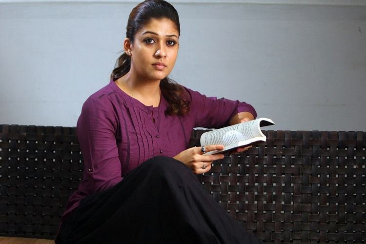 Watch: Actor Nayanthara chilling on Vizag beach minus fans | The News Minute