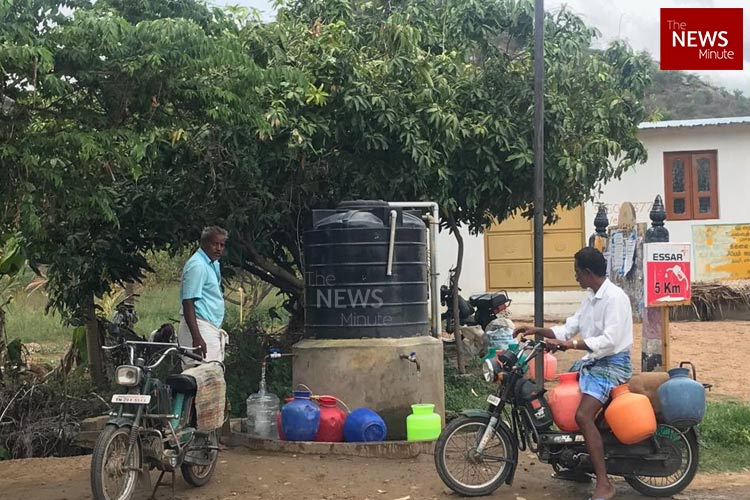 Ground report: In Dharmapuri, residents forced to travel up to 7 km in search of water