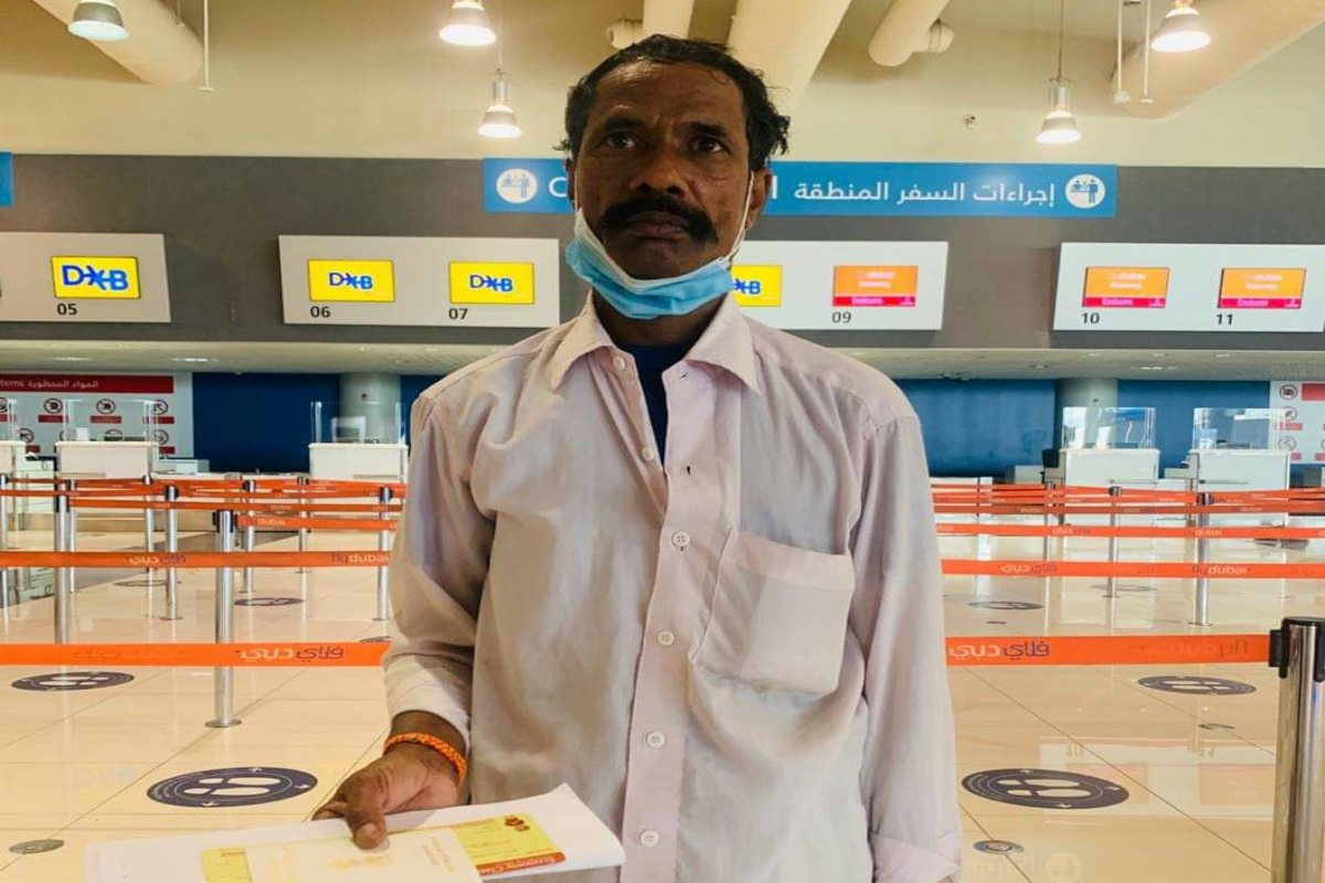 Telangana man stranded in UAE for 13 years finally returns home