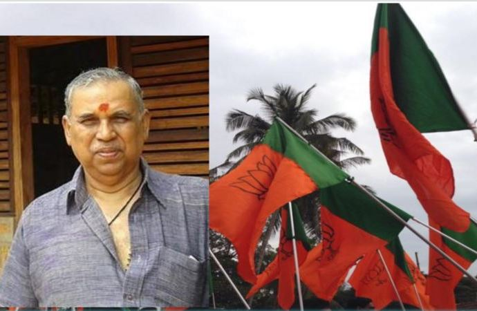 Veteran rss leader pp mukundan will be back in kerala bjp for V muraleedharan bjp